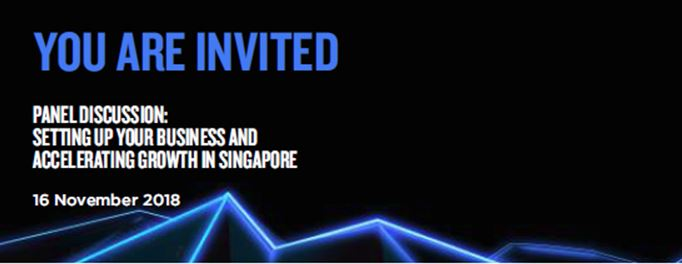 Setting up your business and accelerating growth in SG